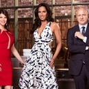FROM LEFT: Top Chef hosts Gail Simmons, Padma Lakshmi and Tom Collichio. IMAGE: Courtesy of bravotv.com.