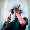 Vape pen and cloud. (Nathan Salt / Pexels)