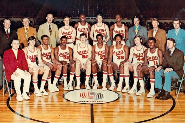 9ed42de10a9 The Blazers Will Play a Game at Veterans Memorial Coliseum Next Season in  Honor of the Team s 50th Anniversary