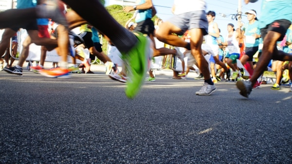 Marathon runners in Brazil. (Micael 106 / Wikimedia Commons)