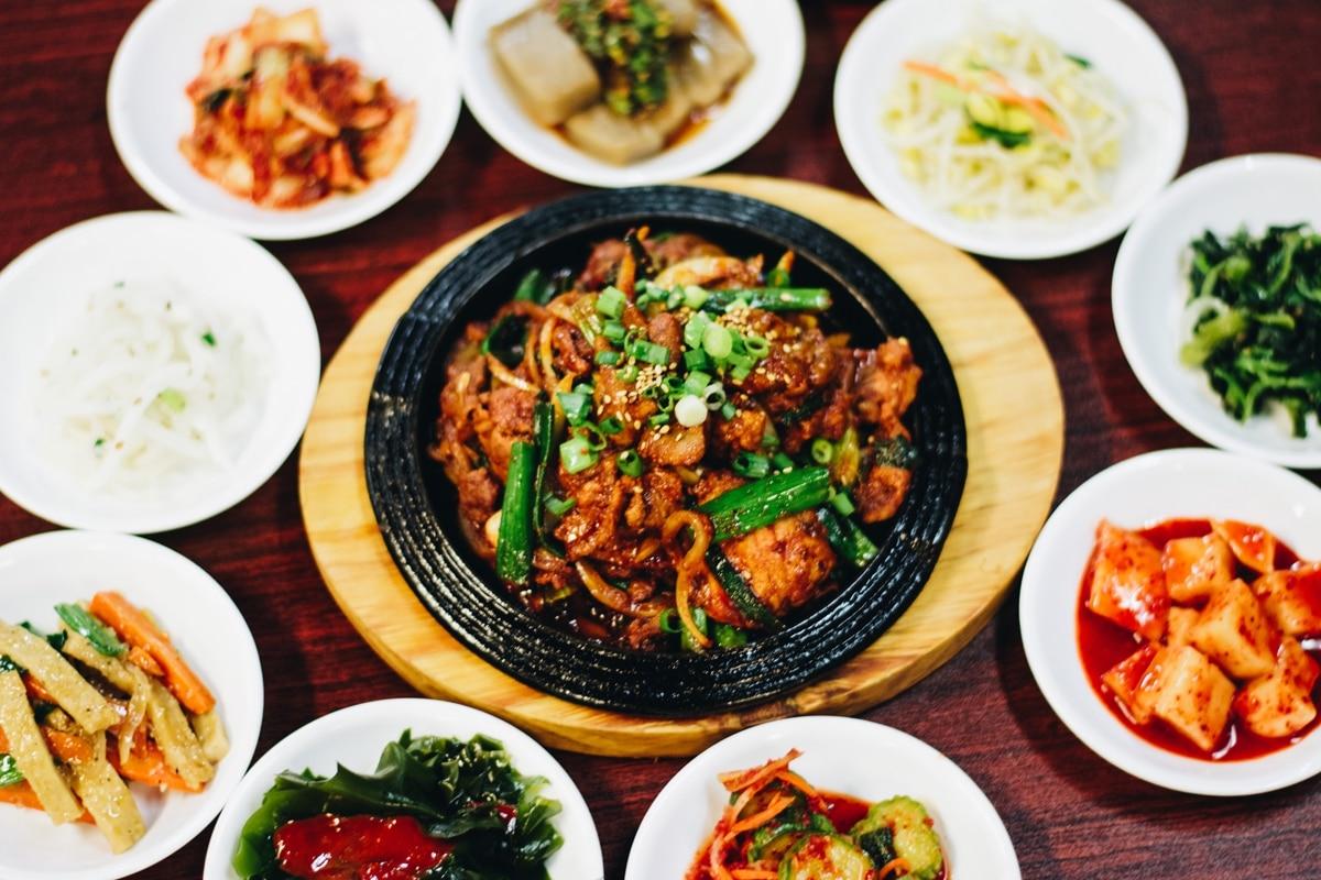 we visited all the korean restaurants in walking distance. Black Bedroom Furniture Sets. Home Design Ideas