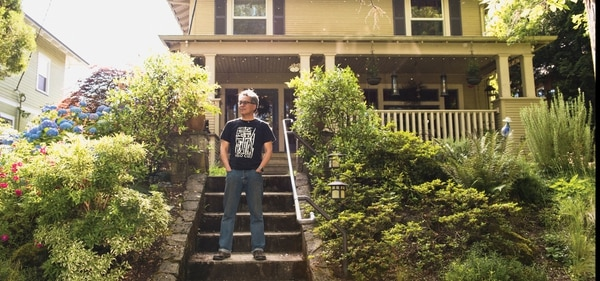 """The developers are actually building like crazy,"" says Laurelhurst resident John Liu. ""The problem is, they're not building anything affordable, because they don't want to."" (Thomas Teal)"