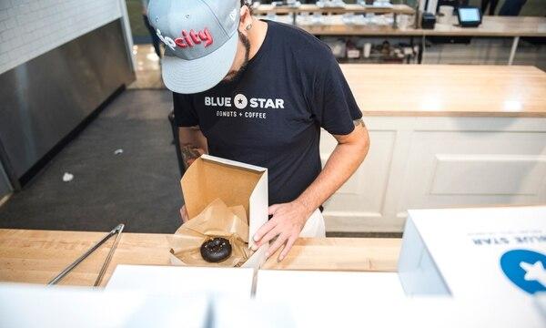 Blue Star Doughnut at Portland International Airport (Thomas Teal)