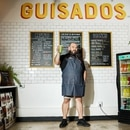 Taqueria los Punales chef and co-owner David Madrigal. IMAGE: Christine Dong.