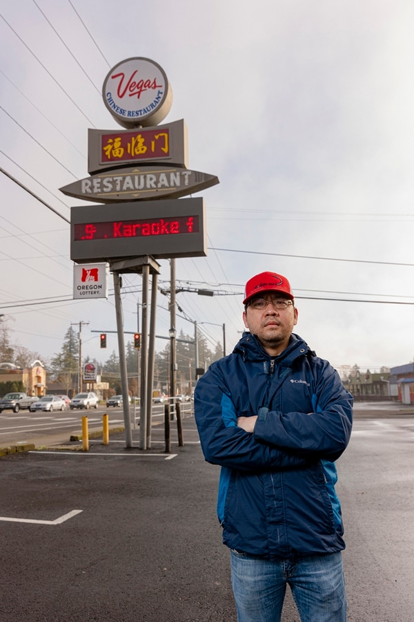 John Ma says a drive-thru window would cost him $30,000—and save his business. (Wesley Lapointe)