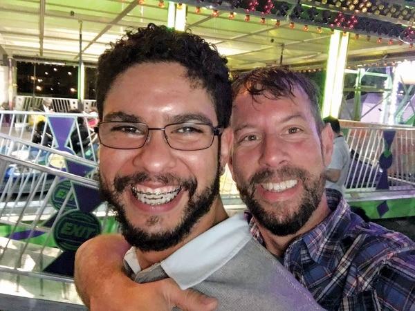 Luis Garcia-Campos (left) and Sean Sexton (photo courtesy Sean Sexton).