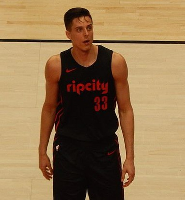 Zach Collins. IMAGE: FrenchieinPortland.