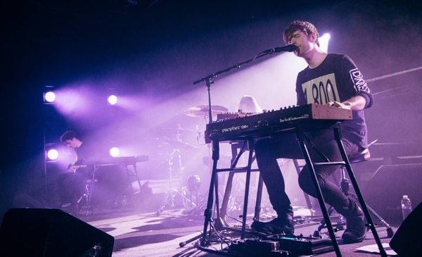 James Blake at Roseland Theater on Oct. 14. IMAGE: Henry Cromett.