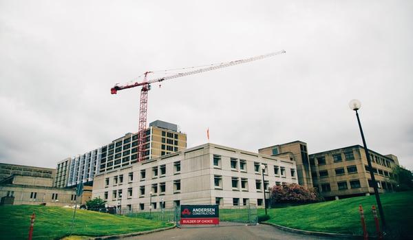 Providence is spending $85 million to rehab St. Vincent's Hospital in Southwest Portland. (Henry Cromett)