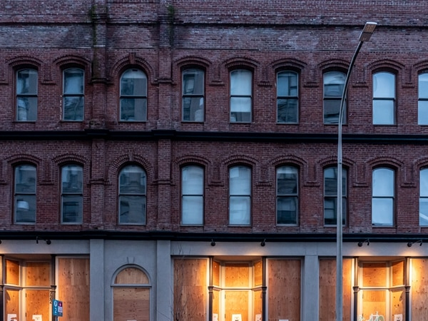 Downtown windows. (Brian Burk)