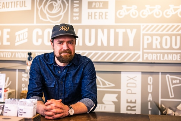 John Connor, founder of MadeHere PDX. (Justin Katigbak)