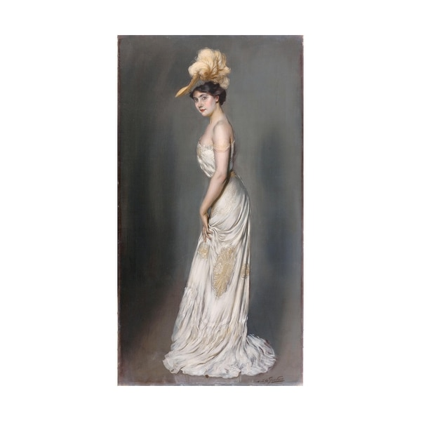 Portrait of Madame René Préjelan (Antoine de La Gandara, ca. 1903) depicts the fashion and high style of the Belle Époque. (Petit Palais / Roger Viollet, Courtesy of Portland Art Museum)
