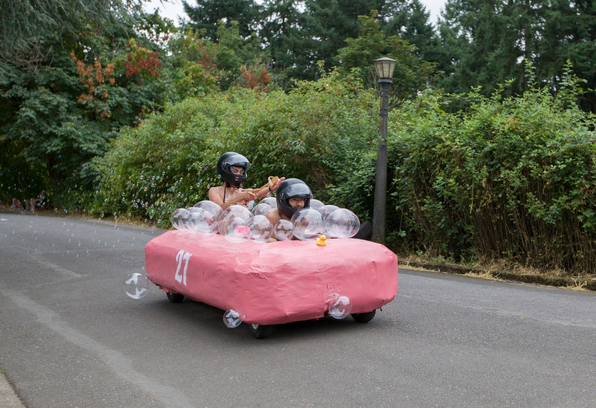 Have Your Cake and Race It, Too: Scenes from the Portland Adult Soap Box Derby