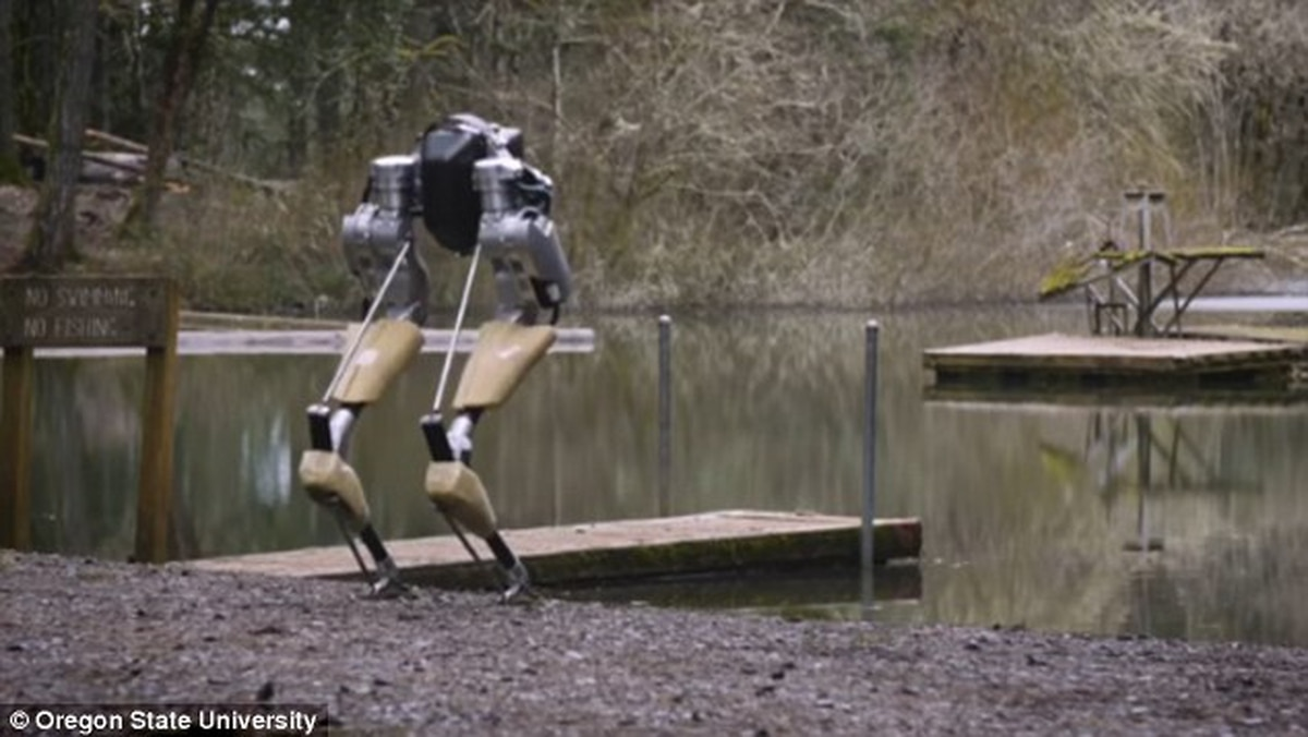 Listen to OSU Professor Who Built a Robot Talk About