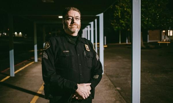 Portland Police Sgt. Brian Hughes (Sam Gehrke)