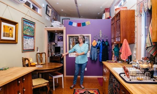 Dana Denny's tiny home. (Christine Dong)