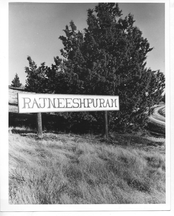 Rajneeshpuram in the early '80s.
