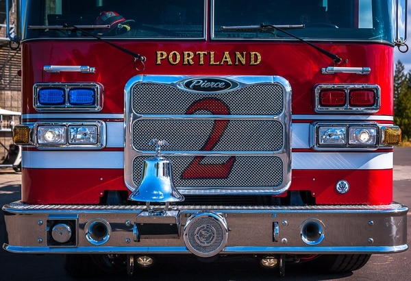 Portland Fire & Rescue rig (Ronit Fahl)
