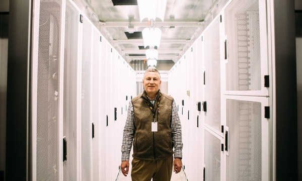 Jeffrey Henry opened a data center in Bend, renting out space to both Bitcoin miners and government agencies. (Christine Dong)