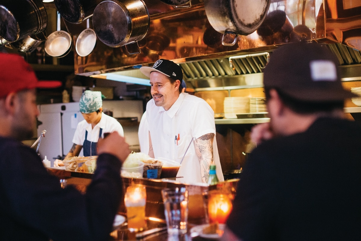 Next Door To The Restaurant That Put Portland Food On Map Gabe Rucker Will Kick Out A Wine And Tail Hy Spot Serving Up His Personal Spin