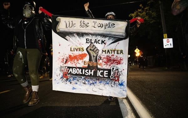 A September 2020 protest. (Alex Wittwer)