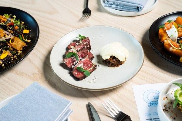 Hanger steak. (Christine Dong)