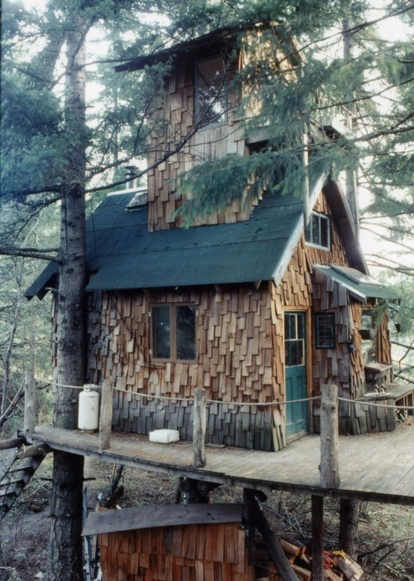 Tofurky's founder lived in this Hood River treehouse for seven years.