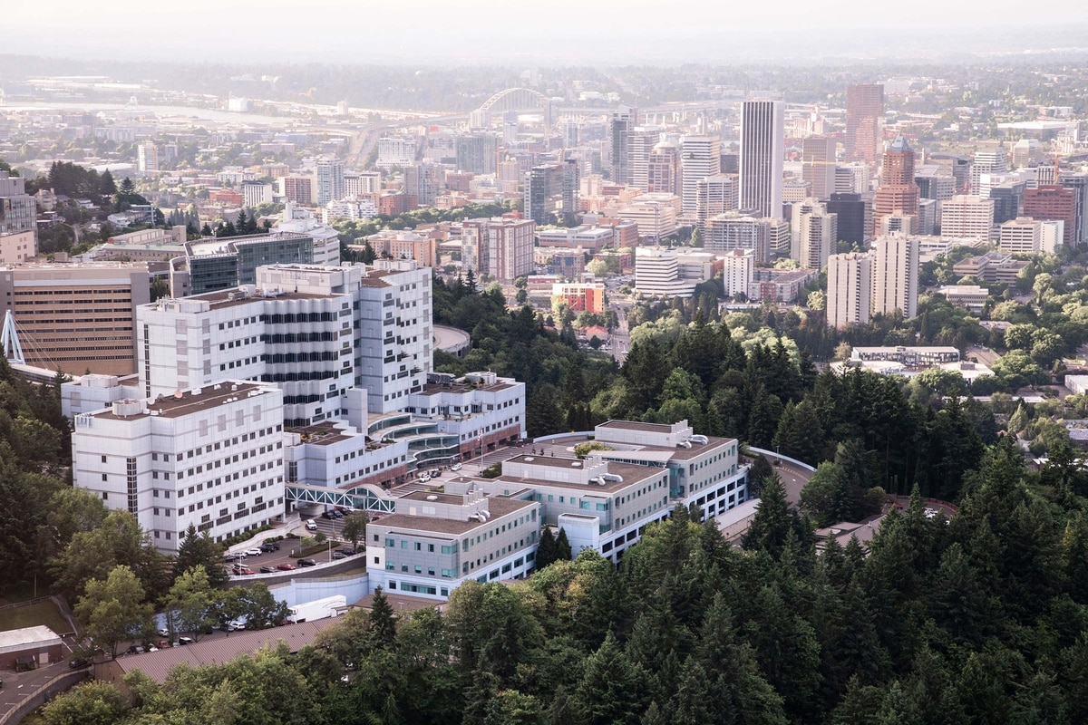 Oregon Health and Science University's Vice President of