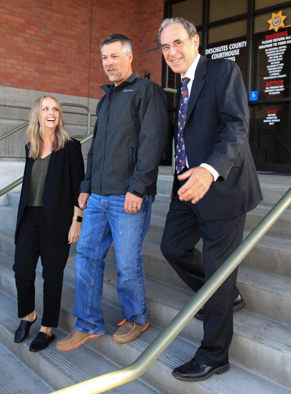 Josh with OIP Legal Director, Steve Wax and OIP Staff Attorney, Brittney Plesser. (Jenny Coleman)