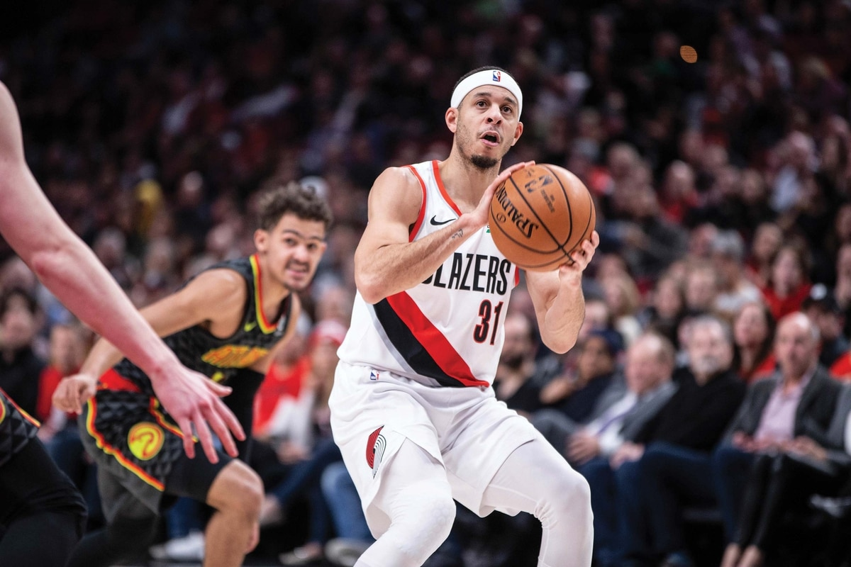 Portland Trail Blazer s Seth Curry Is Better Than the Other Curry ... e6093c45c