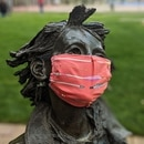 RAMONA THE PEST: If she can wear a mask outside, so can you. (Brian Burk)
