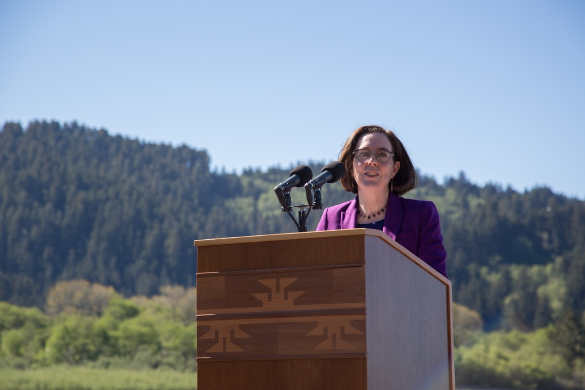 Gov. Kate Brown Officially Announces Bid for Re-Election in 2018