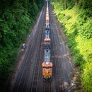 BNSF train in North Portland.