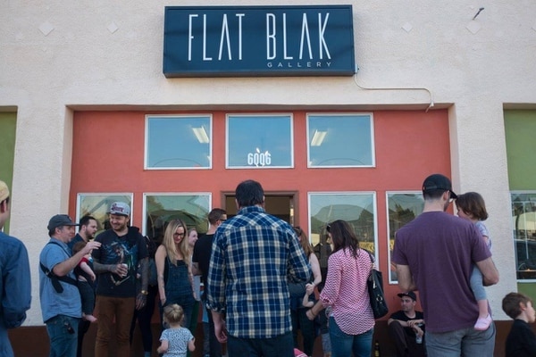 (Flat Blak Gallery – photo from Flat Blak)