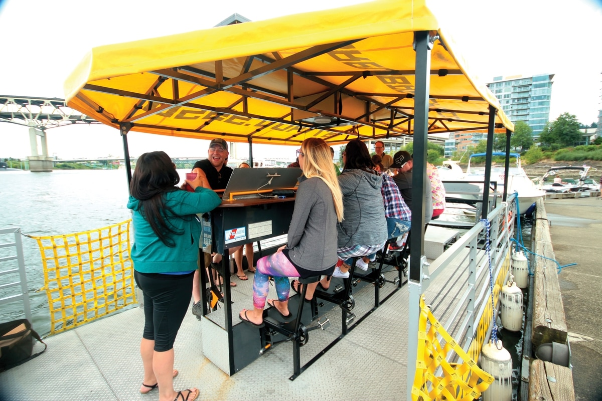 Portland's Best Pedal-Powered Booze Cruise Is on the River ...