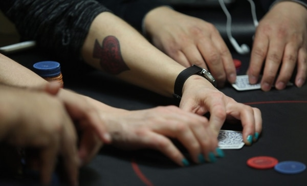Poker at Final Table. (Natalie Behring)