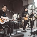 Portugal the Man performs at March for Our Lives. (CJ Monserrat)