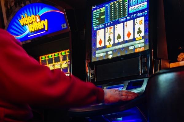 Oregon Lottery terminals. (Jason DeSomer)