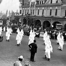 Ku Klux Klan parade Ashland, Oregon.