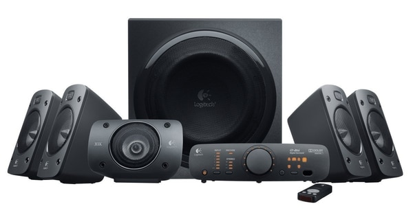 Let every headshot boom across your computer room with this mammoth sound system. (Logitech)