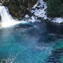 Tamolitch Falls, aka Blue Pool