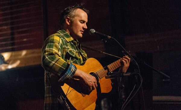 Mt. Eerie's Phil Elverum at Mississippi Studios. IMAGE: Emily Joan Greene.