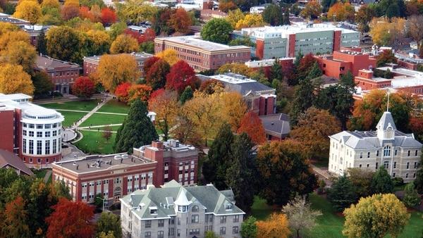Oregon State University campus (OSU)