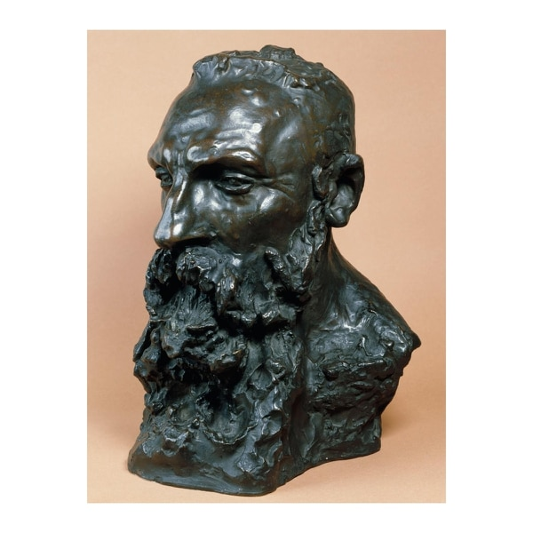 The Bust of Auguste Rodin, (Camille Claudel, ca. 1889) is considered the best portrait of the artist, as he is among the most defining 1900s French artists. (Patrick Pierrain / Petit Palais / Roger-Viollet. Courtesy of Portland Art Museum)