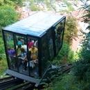 The funicular railway at Ljubljana Castle, Slovenia. (Ramon / Wikimedia Commons)