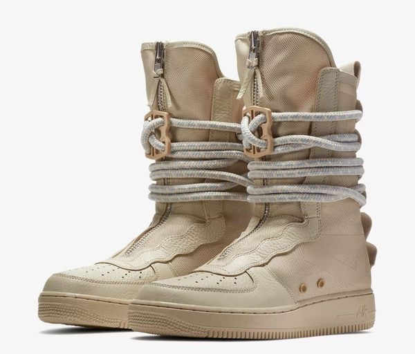 The Special Forces Air Force 1 High ($200) whips ass. (Nike)