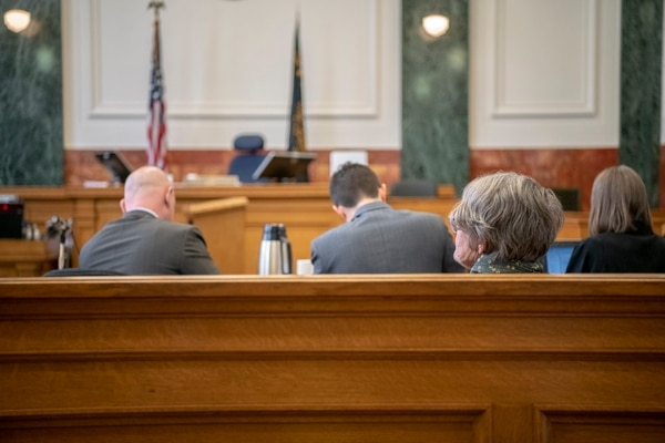 Zebroski in court. (Doug Brown/ACLU of Oregon)