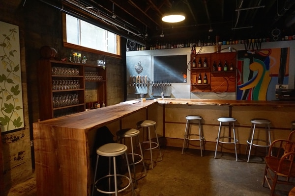 Upright's new bar (Ezra Johnson-Greenough)