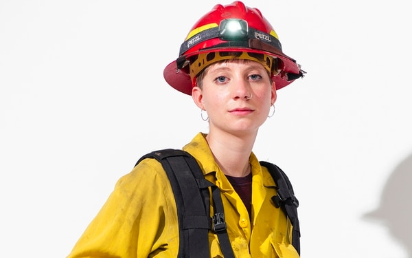 Courtney Kaltenbach, wildlands firefighter (Thomas Teal)