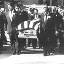 Michael Francke's funeral in 1989. (WW archives)